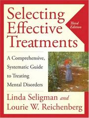 Cover of: Selecting Effective Treatments