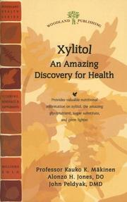 Cover of: Xylitol
