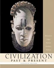 Cover of: Civilization Past & Present, Combined Volume (11th Edition)