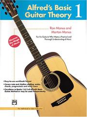 Cover of: Alfred's Basic Guitar Theory