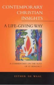Cover of: Life Giving Way (Contemporary Christian Insights)