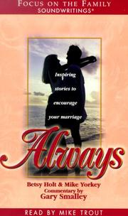 Cover of: Always (Focus on the Family Soundwritings)