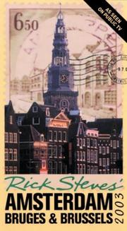 Cover of: Rick Steves' Amsterdam, Bruges, and Brussels 2003