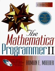 Cover of: The Mathematica programmer II