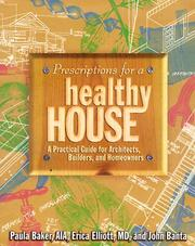 Cover of: Prescriptions for a Healthy House