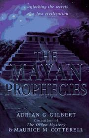Cover of: The Mayan prophecies