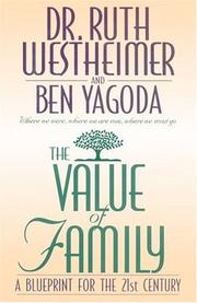 Cover of: The value of family