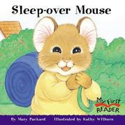Cover of: Sleep-Over Mouse (My First Reader)
