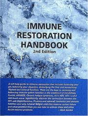 Cover of: Immune Restoration Handbook, Second Edition