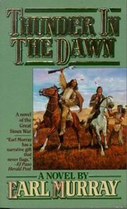Cover of: Thunder In The Dawn (The Buffalo Song)
