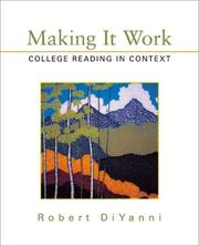 Cover of: Making It Work