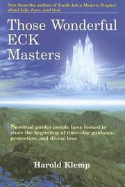 Cover of: Those Wonderful Eck Masters