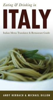 Cover of: EATING & DRINKING IN ITALY (Open Road Travel Guides Eating and Drinking in Italy)