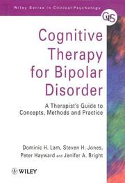 Cover of: Cognitive Therapy for Bipolar Disorder