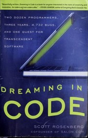 Cover of: Dreaming in code