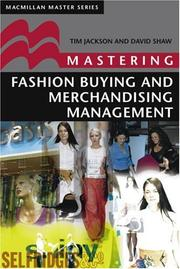 Cover of: Mastering Fashion Buying and Merchandising Management (Palgrave Master)
