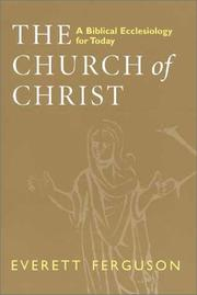 Cover of: The church of Christ