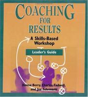 Cover of: Coaching for Results