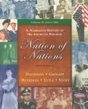 Cover of: Nation of Nations: A Narrative History of the American Republic