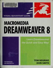 Cover of: Macromedia Dreamweaver 8 for Windows & Macintosh (Visual QuickStart Guide)