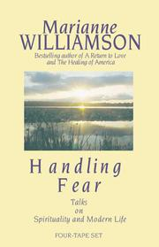 Cover of: Handling Fear: Talks on Spirituality and Modern Life