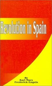 Cover of: Revolution in Spain
