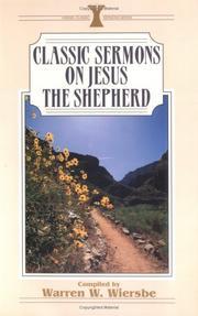 Classic Sermons On Jesus The Shepherd Kregel