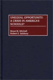 Cover of: Unequal Opportunity