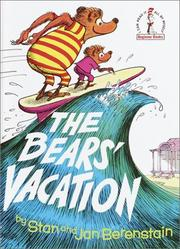 Cover of: Bears' Vacation