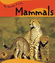 Cover of: Mammals (Variety of Life)
