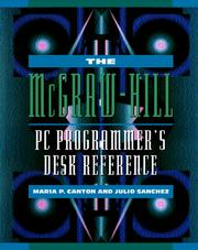 Cover of: The McGraw-Hill PC Programmer's Desk Reference