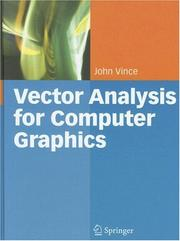 Cover of: Vector Analysis for Computer Graphics