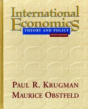Cover of: International Economics