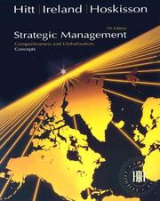 Cover of: Strategic Management Concepts