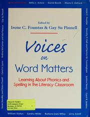Cover of: Voices on word matters