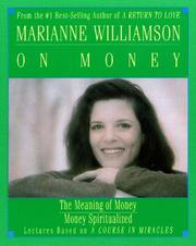 Cover of: Marianne Williamson on Money