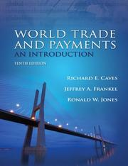 Cover of: World Trade and Payments