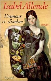 Cover of: D'amour et d'ombre