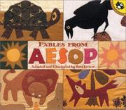 Cover of: Fables from Aesop: A New Translation