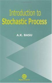 Cover of: An Introduction to Stochastic Process