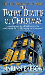 Cover of: The Twelve Deaths of Christmas (12 Deaths of Christmas)