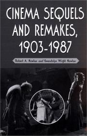 Cover of: Cinema Sequels and Remakes, 1903-1987