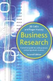 Cover of: Business Research