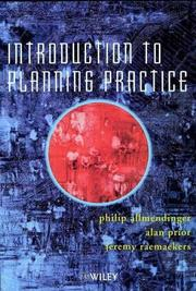 Cover of: Introduction to Planning Practice