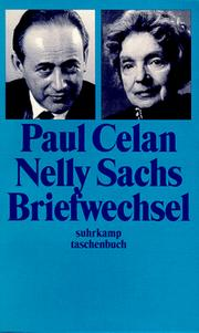 Cover of: Briefwechsel.
