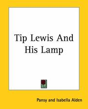 Cover of: Tip Lewis And His Lamp
