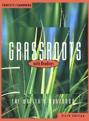 Cover of: Grassroots With Readingss: The Writer's Workbook