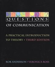 Cover of: Questions of Communication