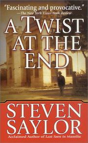 Cover of: A Twist at The End (Novels of Ancient Rome)