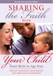 Cover of: Sharing the Faith with Your Child